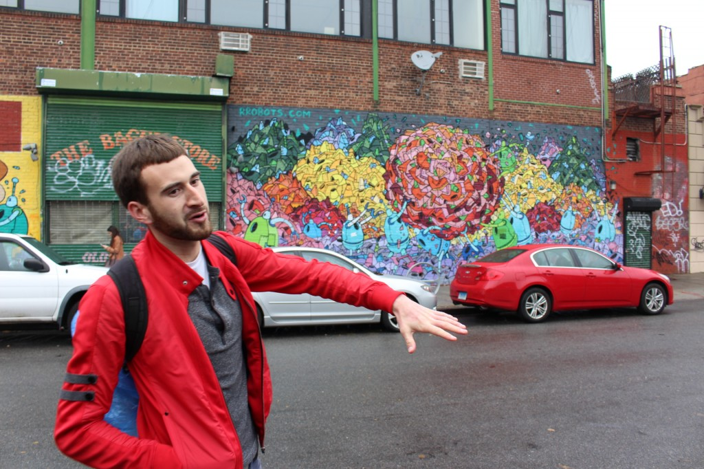 Jeff was incredibly knowledgeable on the street art around Williamsburg.