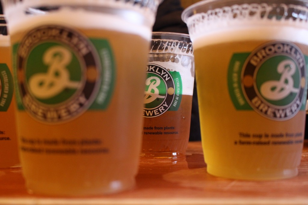 After the walking tour, we took our taste buds for a ride at Brooklyn Brewery.