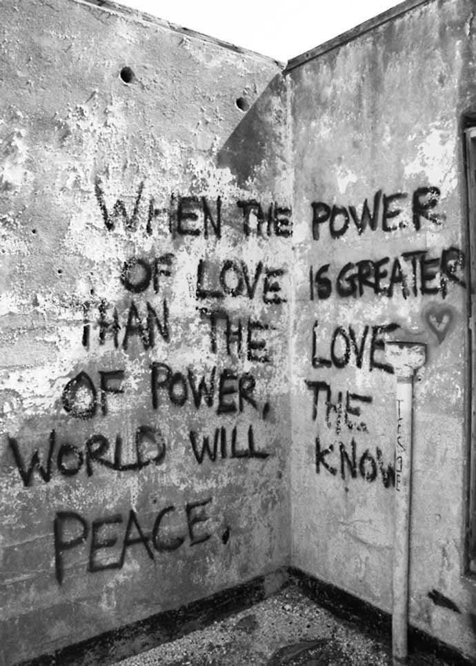 When the power of love is greater