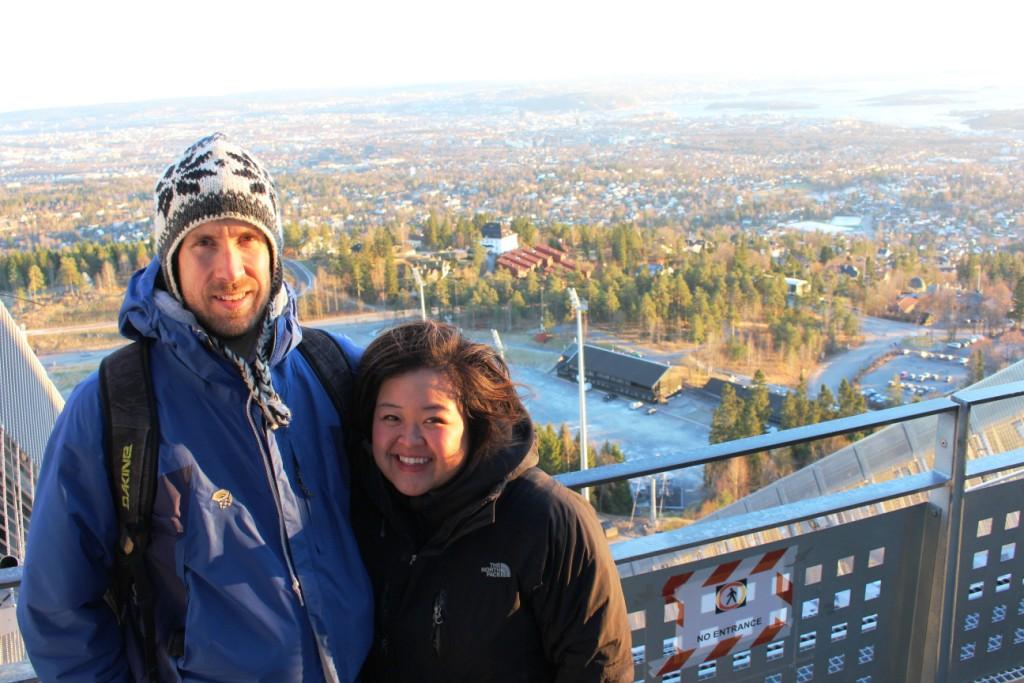 Skimuseet i Holmenkollen/Holmenkollen Ski Museum and Jump Tower